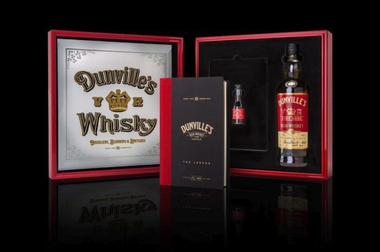 Dunville's release 18 year old rum finish expression