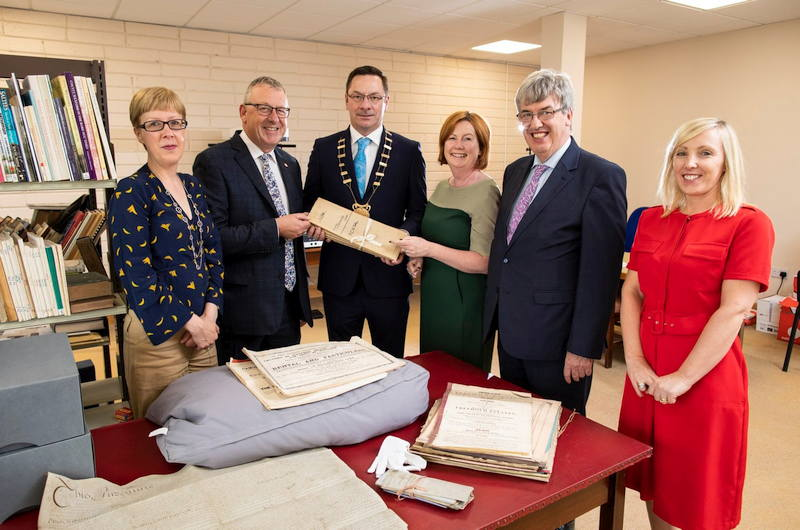 Irish Whiskey Magazine - New Releases - Irish Distillers Donates Power Family Papers to Wexford County Archive