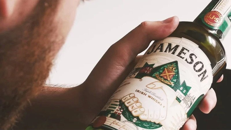 Jameson launches NFC connected bottle for St Patricks day