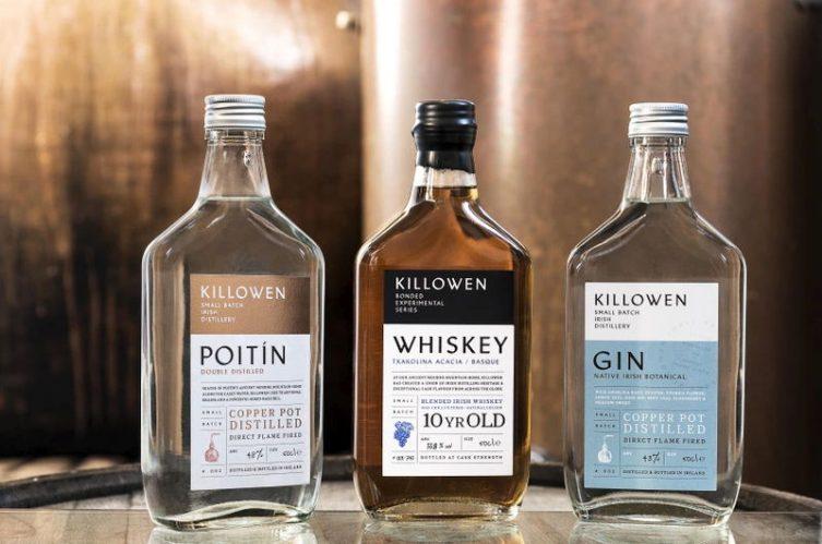 Killowen distillery release 10 year old acacia cask finish