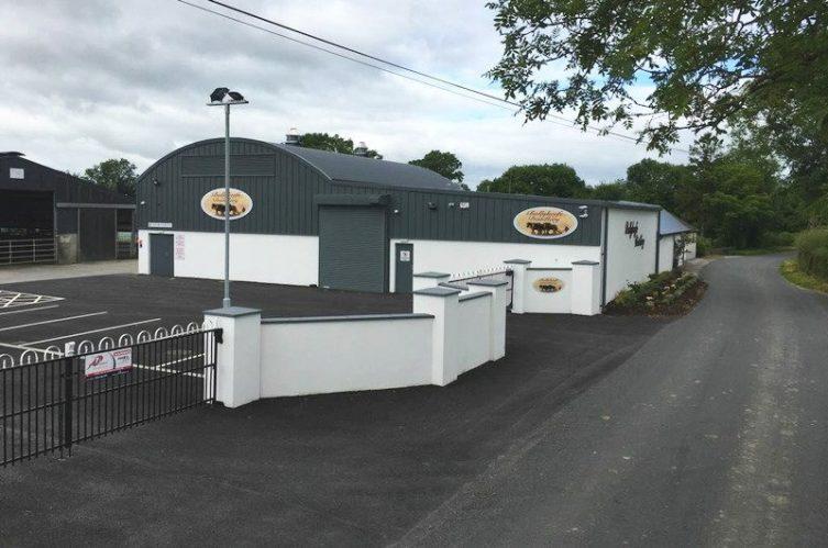 Irish Whiskey Magazine - Ballykeefe Distillery - Distillery Entrance
