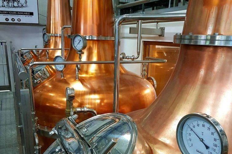Irish Whiskey Magazine - Ballykeefe Distillery - Pot Stills