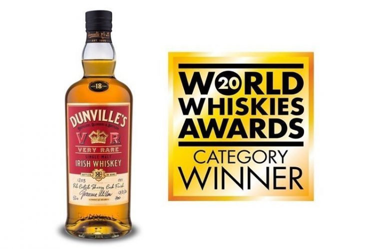 Dunville's Irish Whiskey expands Single Cask Series