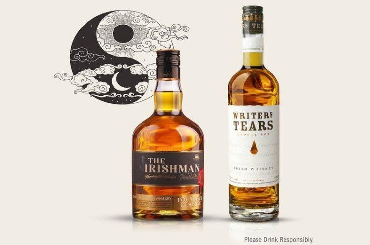 Writers' Tears & The Irishman whiskeys set sail for the far east