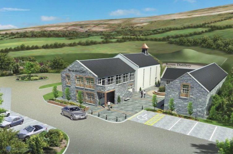 Irish Whiskey Magazine - Burren Distillery - Architect Design
