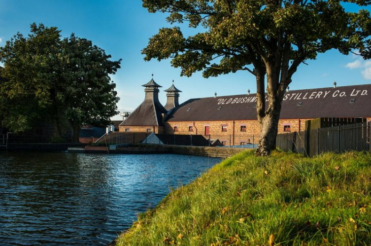 Irish Whiskey Magazine - Bushmills Distillery - Distillery Exterior
