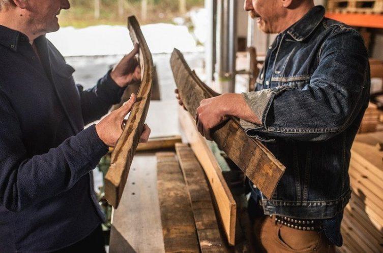 Irish Whiskey Magazine - Bushmills Distillery - Working on some staves