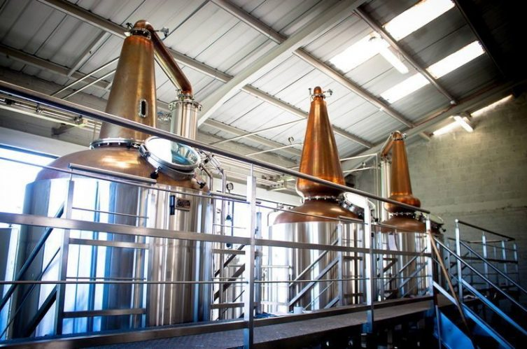 Irish Whiskey Magazine - Connacht Distillery - Pot Stills