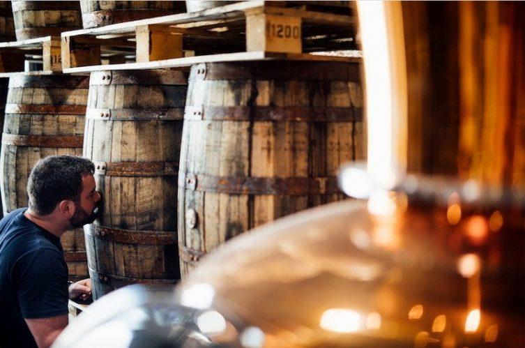 Irish Whiskey Magazine - Copeland Distillery - Enjoying the aroma