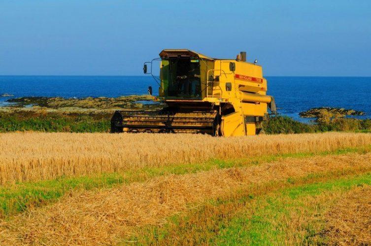 Irish Whiskey Magazine - Echlinville Barley Harvest