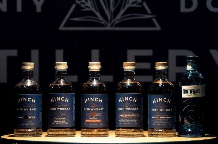 Irish Whiskey Magazine - Hinch Distillery - Full Range