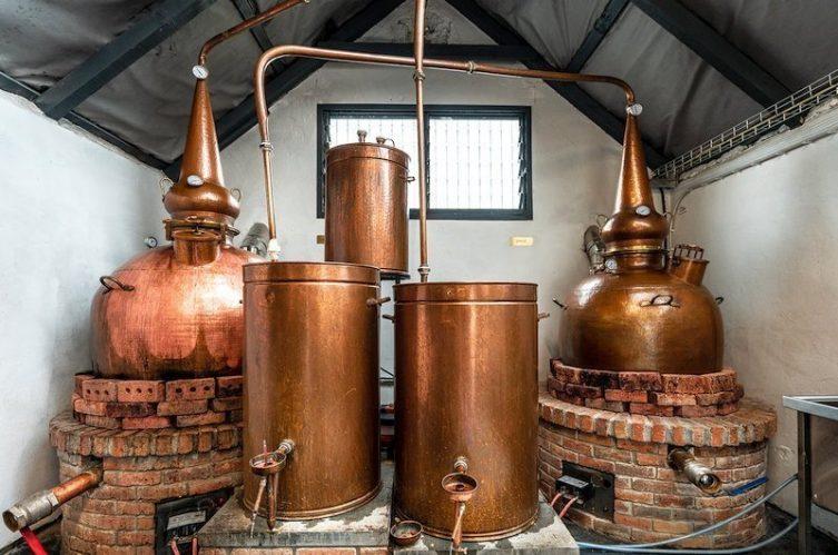Irish Whiskey Magazine - Killowen Distillery - Pot Stills