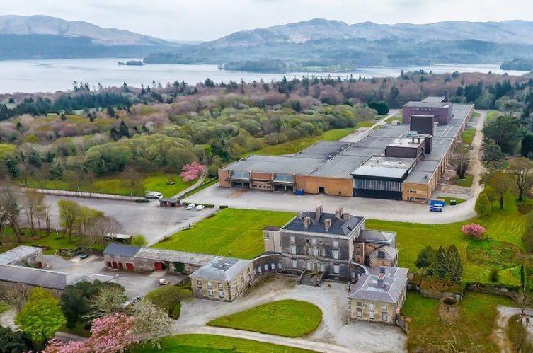 Irish Whiskey Magazine - Lough Distillery - Aerial View