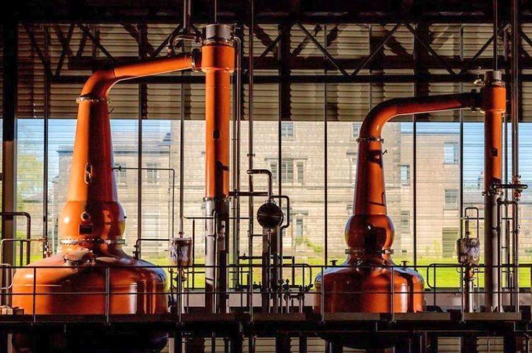 Irish Whiskey Magazine - Lough Distillery - Pot Stills