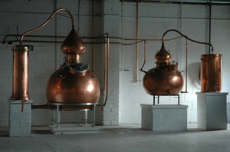 Irish Whiskey Magazine - Lough Mask Distillery - Pot Stills