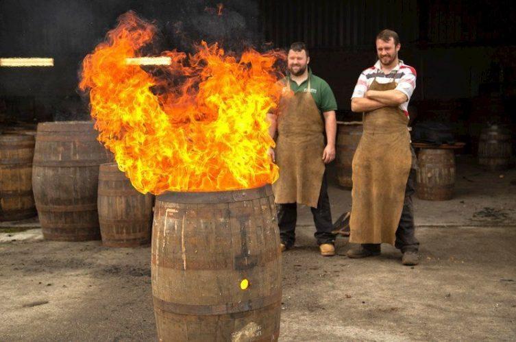 Irish Whiskey Magazine - Nephin Distillery - Cask Firing