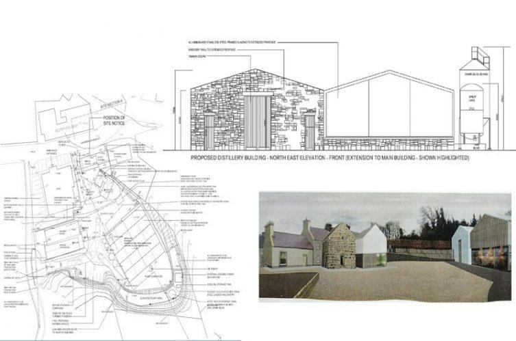 Irish Whiskey Magazine - Nephin Distillery - Site Plan