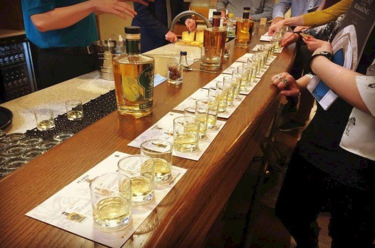 Irish Whiskey Magazine - Pearse Lyons Distillery - Tasting Table