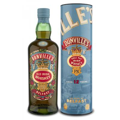 Irish Whiskey Magazine - Tastings - Dunvilles 12yo Single Malt PX Cask