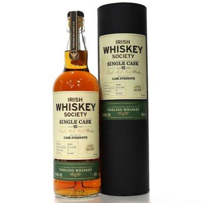 Tastings – Issue 6 – Irish Whiskey Society 10 Year Old Single Malt Carcavelos Finish