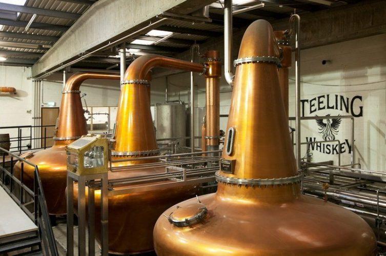 Irish Whiskey Magazine - Teeling Whiskey Distillery - Pot Stills