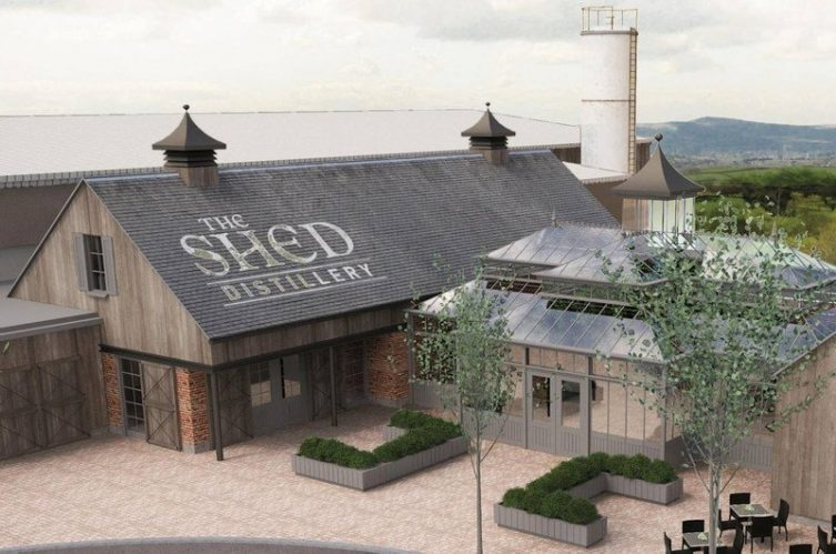 Irish Whiskey Magazine - The Shed Distillery - Exterior Plans