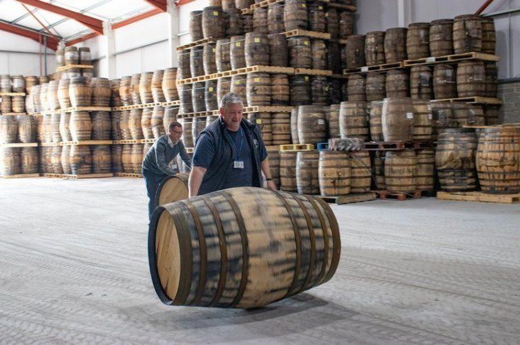 Irish Whiskey Magazine - West Cork Distillers - Cask Warehouse
