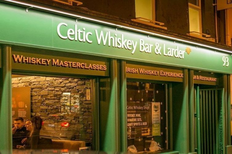 Irish Whiskey Magazine - Whiskey Bars - Celtic Whiskey Bar & Larder