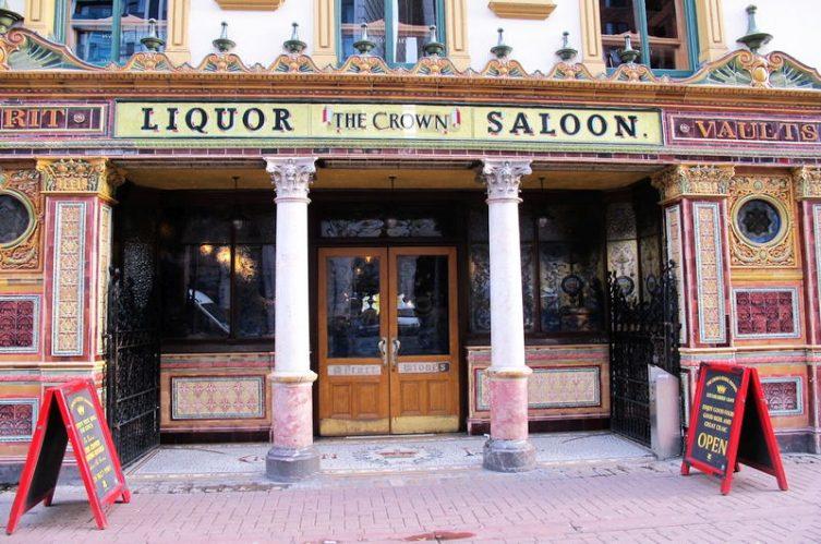 Irish Whiskey Magazine - Whiskey Bars - Crown Liqour Rooms 2