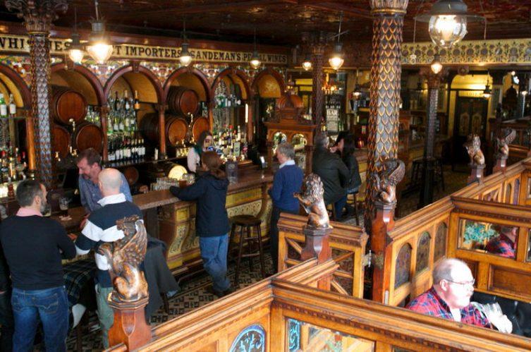 Irish Whiskey Magazine - Whiskey Bars - Crown Liqour Rooms 3