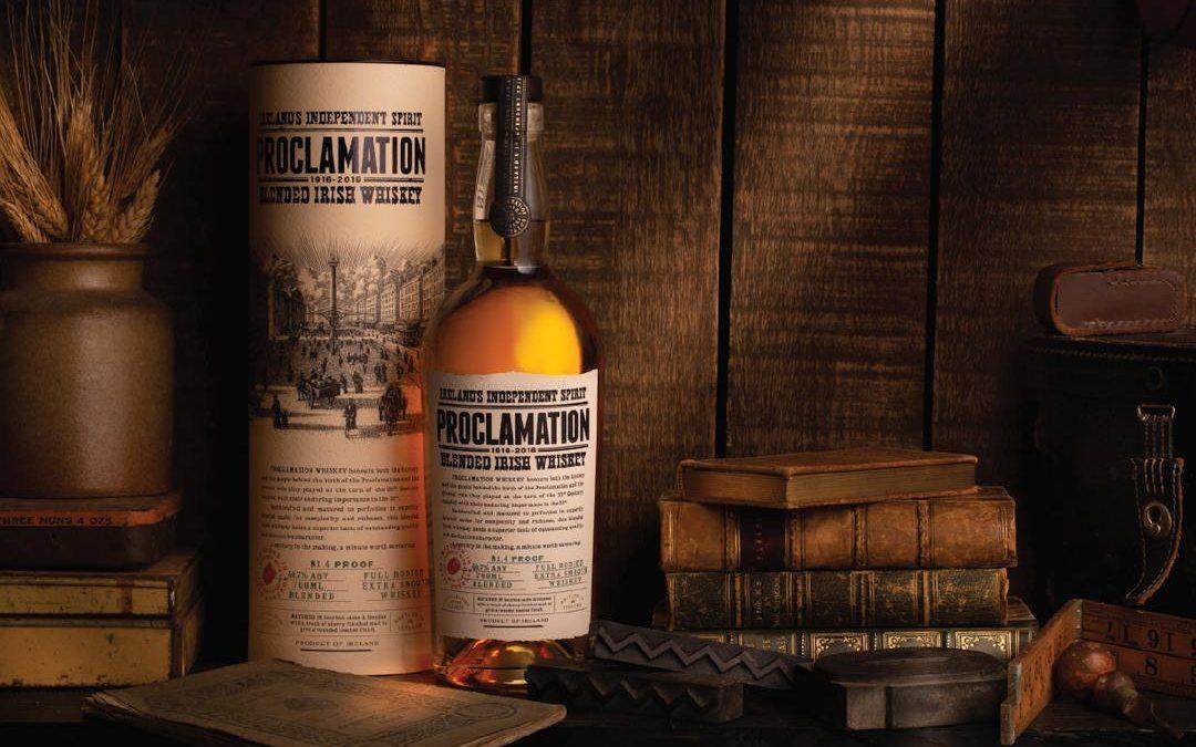 Proclamation Blended Irish Whiskey Released