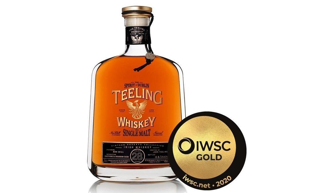 Teeling Whiskey wins awards at the IWSC