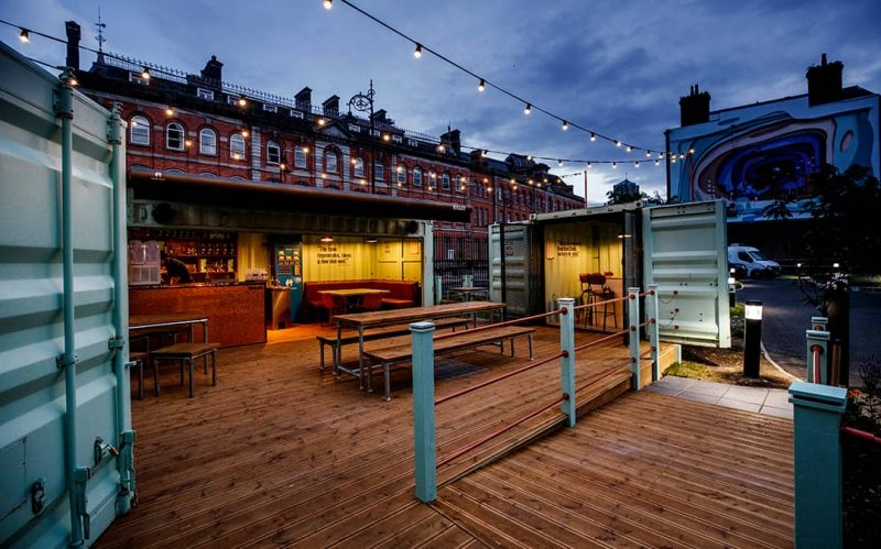 Roe & Co Distillery offers up its Dublin 8 outdoor cocktail garden to local, independent businesses