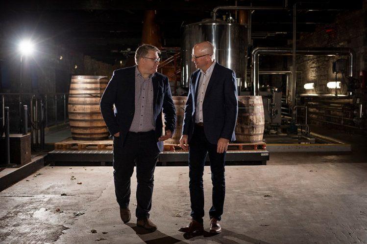 Former Master Distiller Brian Nation and Master Distiller Kevin O'Gorman