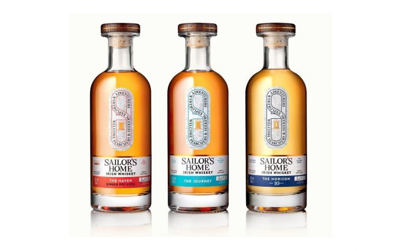 Debut Irish whiskey releases from Sailor's Home