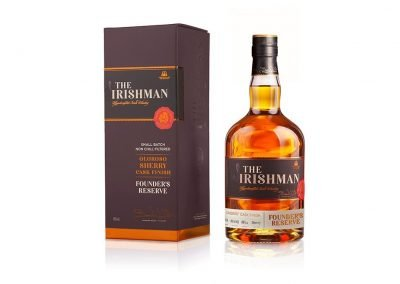 Walsh Whiskey release Irishman Founder's Reserve - with a Sherry finish