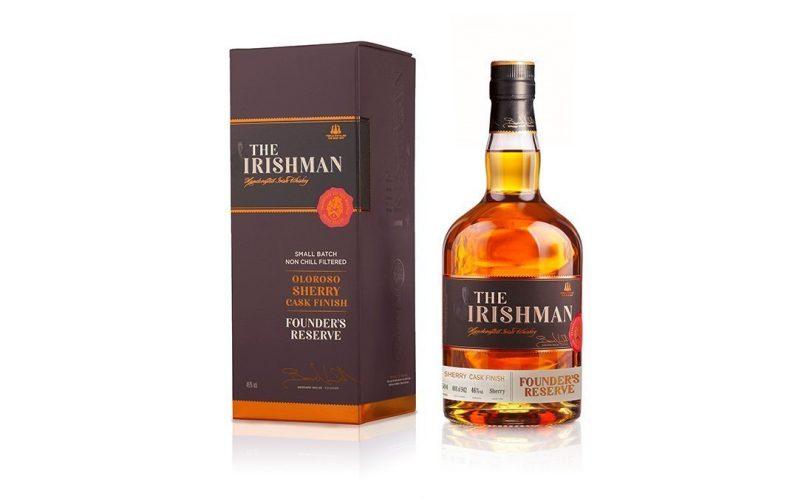 Irish Whiskey Magazine - The home of Irish Whiskey - The Irishman Founder's Reserve Oloroso Sherry Finish