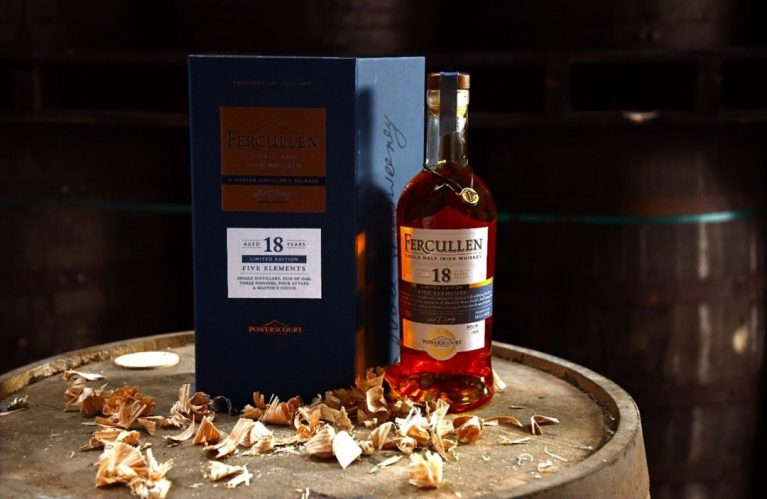 "Powerscourt Distillery unveils a limited edition, Fercullen 18-year-old single malt of ""Five Elements"""