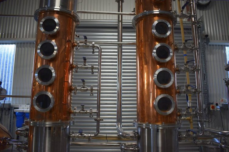 Irish Whiskey Magazine - Glendree Distillery Column Stills