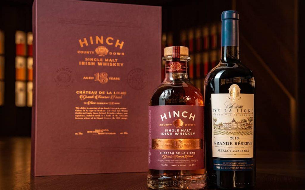Hinch Irish Whiskey 18 Year Old Single Malt Chateau De La Ligne Finish