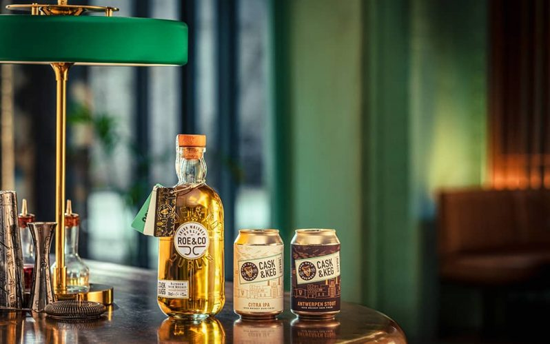 Roe & Co. collaborate with Guinness Open Gate Brewery for two new releases