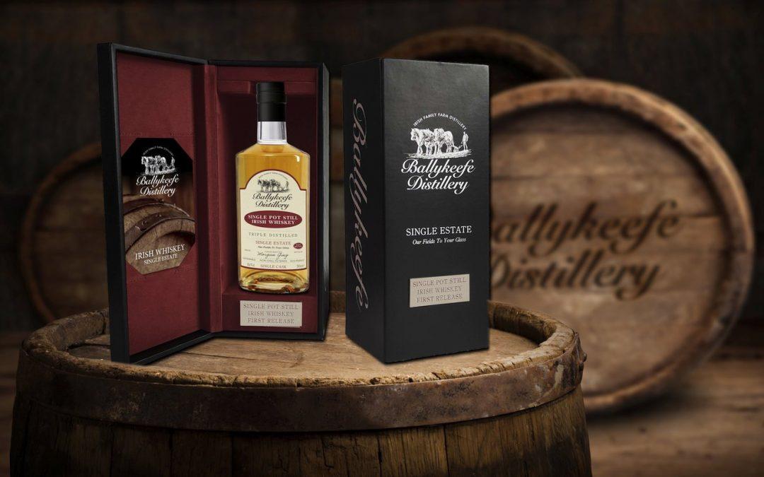 Ballykeefe Distillery release first pot still Irish whiskey
