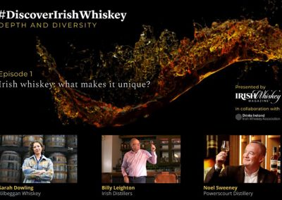 Discover Irish Whiskey podcast - What makes Irish whiskey unique?