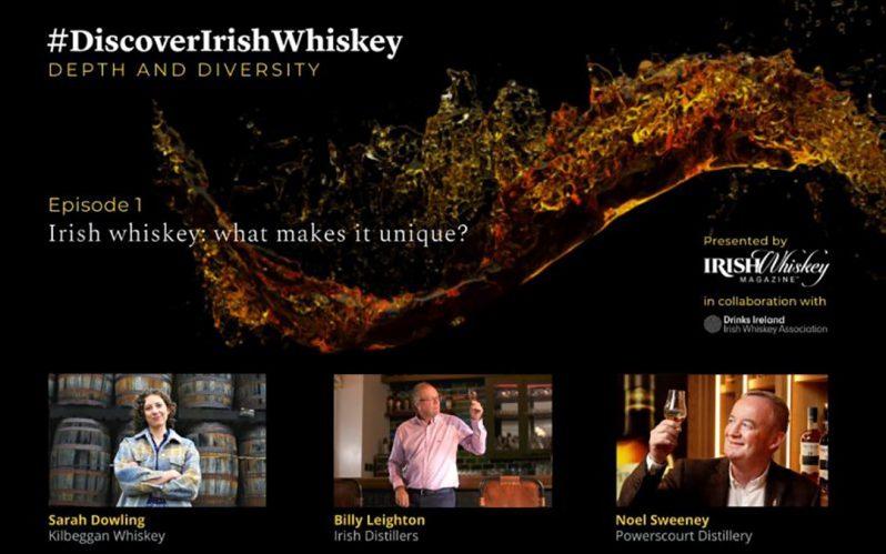 Discover Irish Whiskey podcast – What makes Irish whiskey unique?
