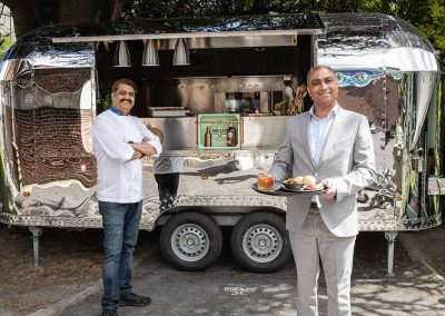 Chef Sunil Ghai and Benny Jacobs of Pickle