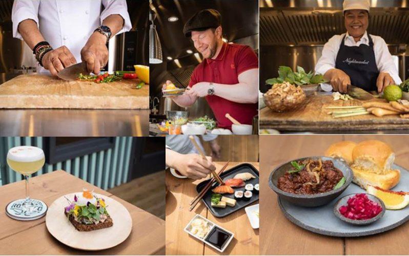 Roe & Co Distillery launch D-8TE – a world food festival