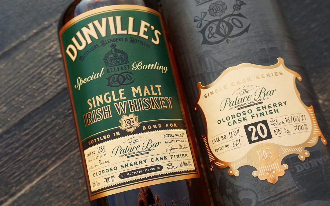 Echlinville Distillery and The Palace Bar unveil 20 yr old Irish whiskey