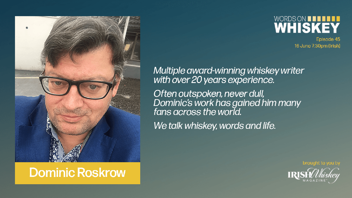 Dominic Roskrow - Words on Whiskey
