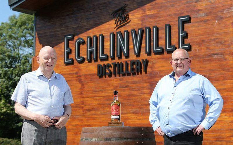 Matt D'Arcy Old Irish Whiskey joins Echlinville Distillery portfolio