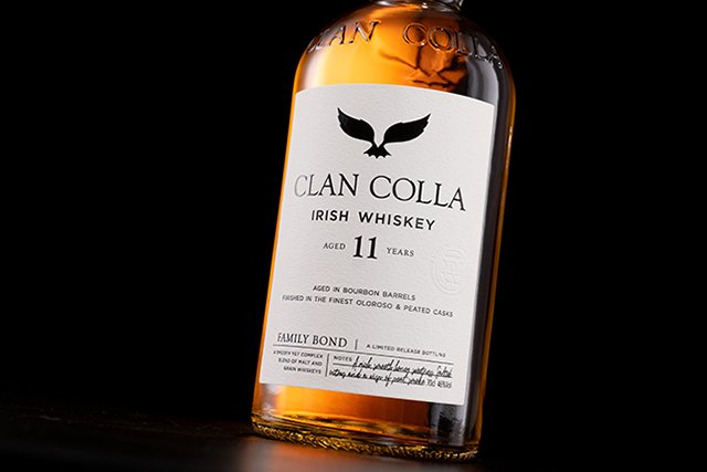 Irish Whiskey Magazine - McAllister Irish Spirits. Clan Colla. 11 YO Blend